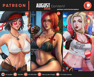 August Content 2020 Summary