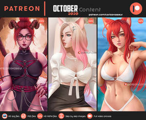 Patreon October 2020 (NOW AVAILABLE ON MY GUMROAD)
