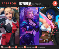 November Content 2020 Summary(Available on Gumroad