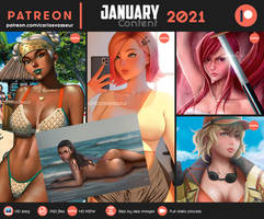 January Content 2021 Summary NOW IN GUMROAD STORE!