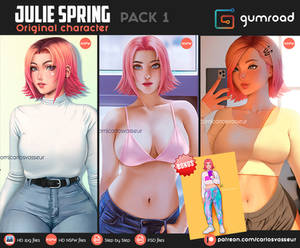 Julie Spring Pack 1