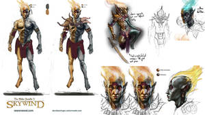 Skywind - Unfinished Lord Vivec Concept Art