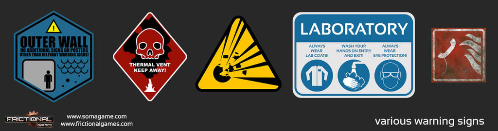 Soma Graphic Design #2: Signs by SethNemo