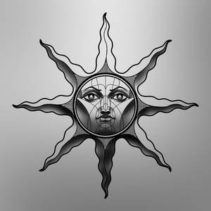 Personal Heirs of the Sun variant for tattoo