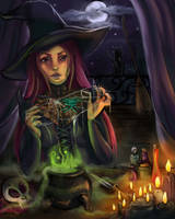 The Worst Witch by Wipaige