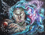 Cyberestial - Oil on Canvas
