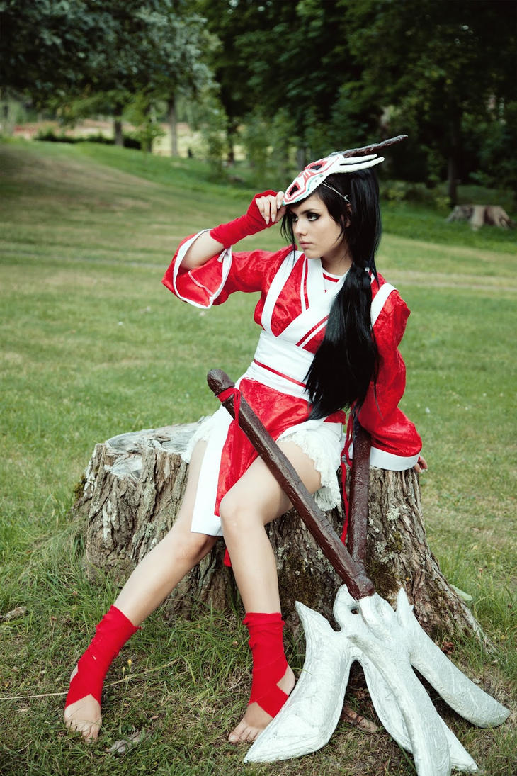 Akali Blood Moon Cosplay League of Legends by CandyAbuse