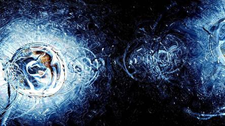 Earth through Rain by Succaxe