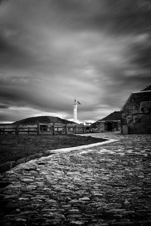 way to lighthouse by fotomania17