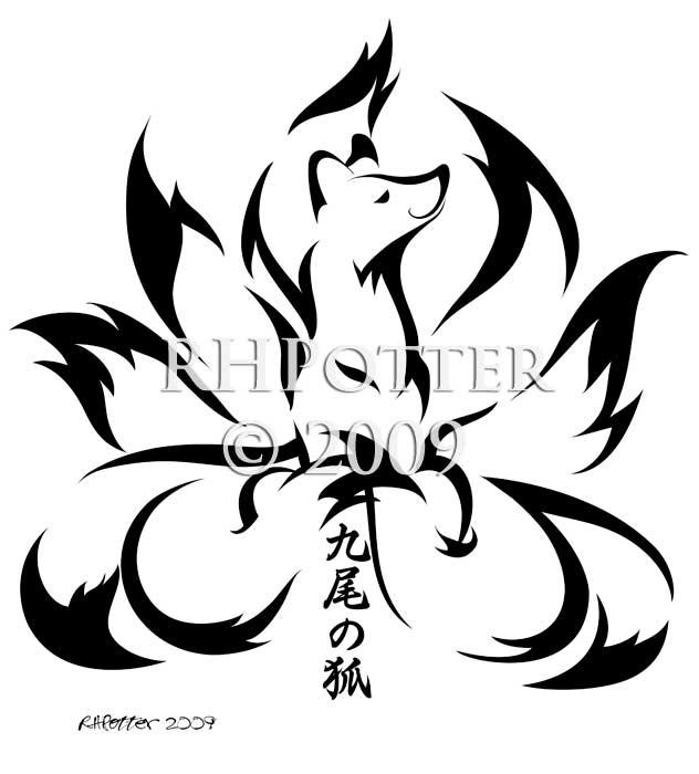 Kyuubi No Kitsune By Rhpotter On Deviantart
