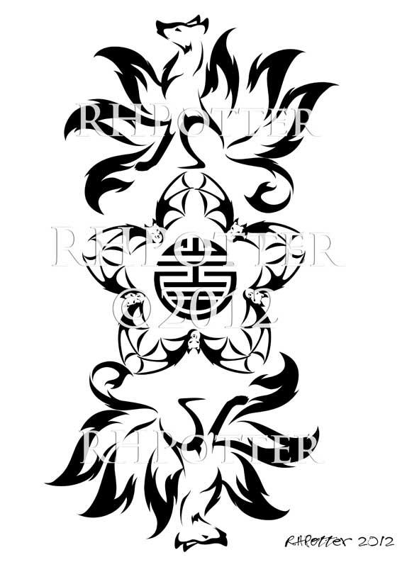 Wu Fu Kitsune By Rhpotter On Deviantart