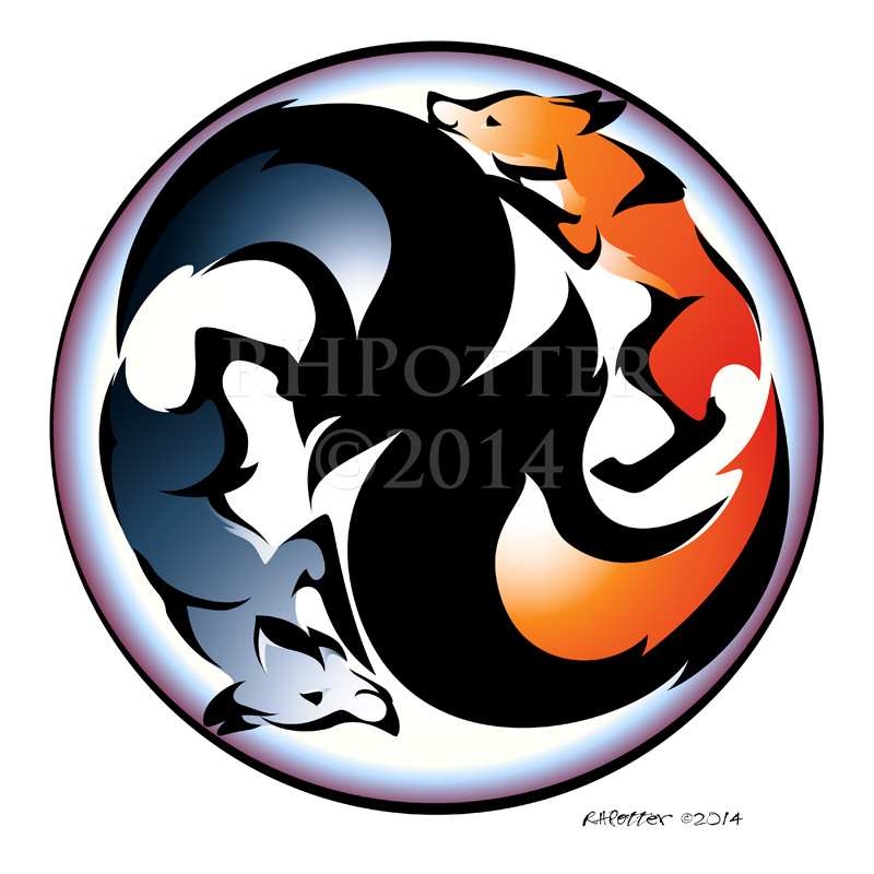 Yin and Yang by RHPotter