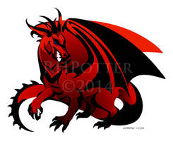Scarlet Dragon II by RHPotter