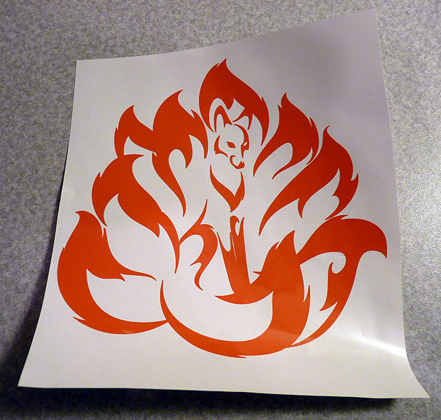 Kitsune Decal by RHPotter