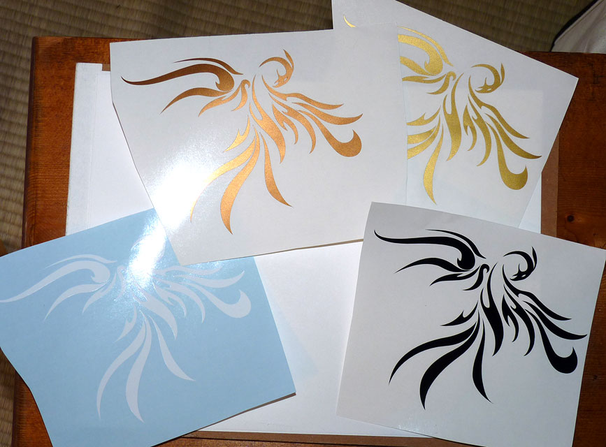 Phoenix Nova Decals by RHPotter