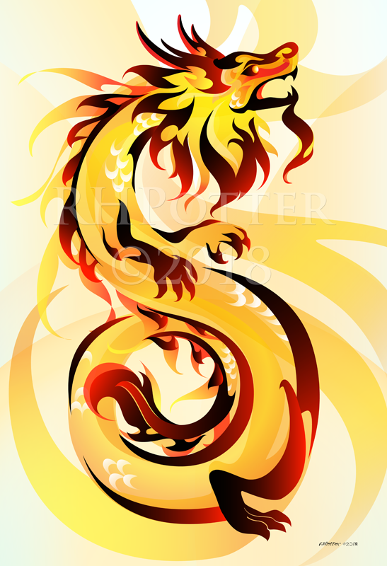 Imperial Dragon by RHPotter