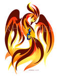 Salamander and Phoenix by RHPotter