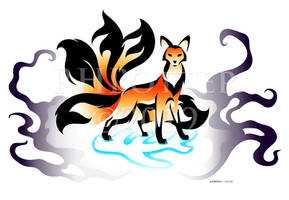 Elder Kitsune by RHPotter