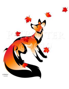 Maple Leaf Kitsune