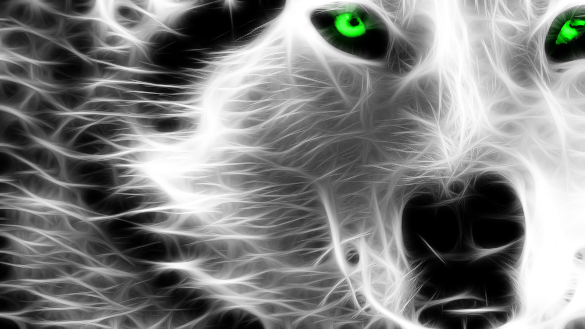 Wolf - Fractal Effect by SithSyanide on DeviantArt