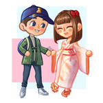 Animal Crossing Couple Villagers