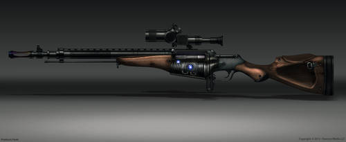 rifle by PavellKiD