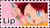 Lip Stamp by sararadisavljevic