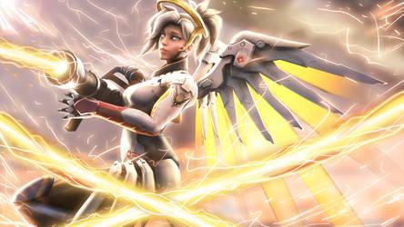 Mercy - Overwatch by Chaepae