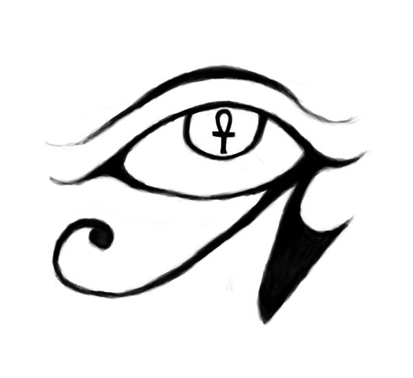 eye of horus tattoo design by obagaar on deviantart. Black Bedroom Furniture Sets. Home Design Ideas