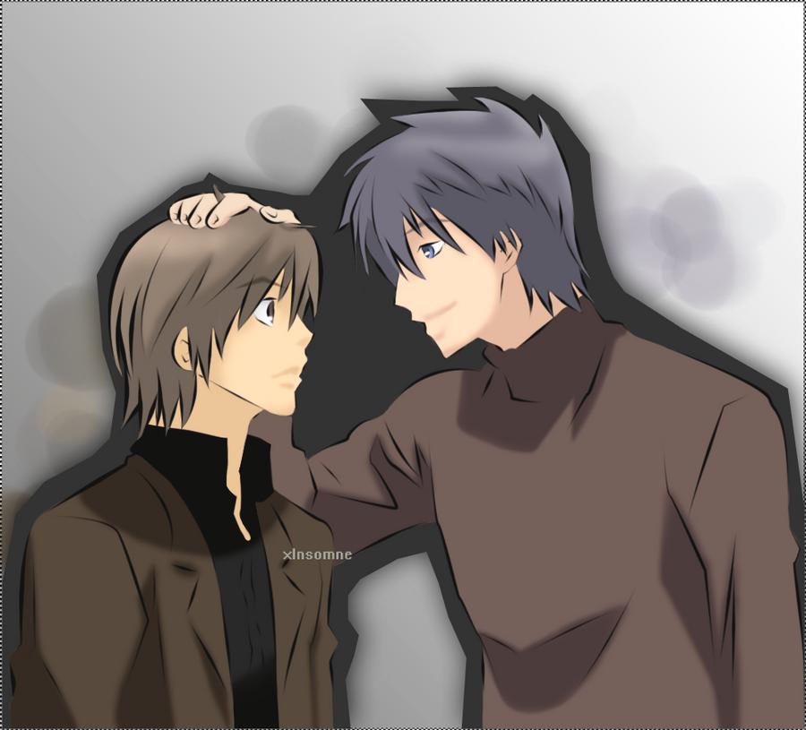 Nowaki and Hiroki   Junjou Romantica ~ by xInsomne on ...