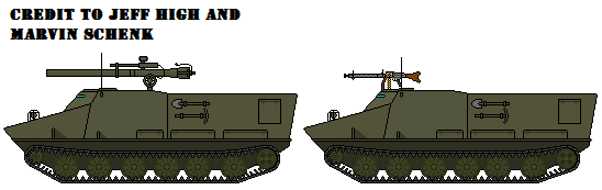 Hansa PTS-51 Amphibious Armored Troop Transport by TheArmsDealer