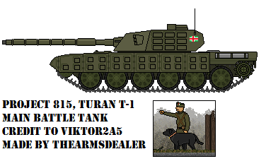 Project 815, Turan T-1 MBT by TheArmsDealer