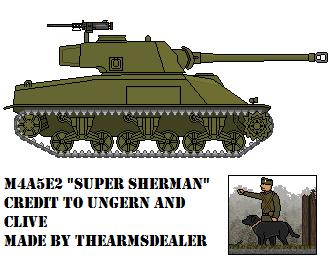 M4A5E2 Super Sherman by TheArmsDealer