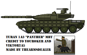 Turan 1a3 Panther MBT by TheArmsDealer