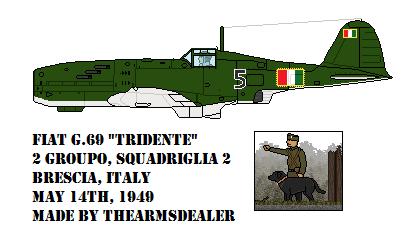 Fiat G.69 'Tridente' by TheArmsDealer