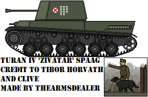 Turan IV 'Zivatar' SPAAG by TheArmsDealer