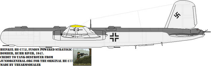 Atomic War He-177 by TheArmsDealer