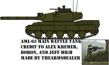 AML-63 MBT by TheArmsDealer
