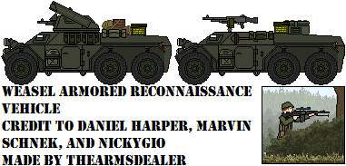 FV 215 Weasel Armored Reconnaissance Vehicle by TheArmsDealer