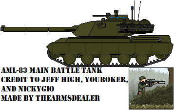 AML-83 Main Battle Tank