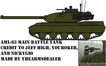 AML-83 Main Battle Tank by TheArmsDealer