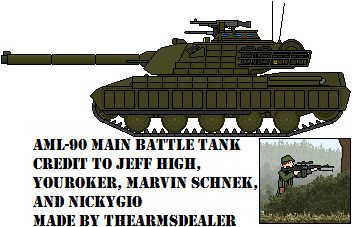 AML-90 Main Battle Tank