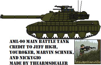 AML-90 Main Battle Tank by TheArmsDealer