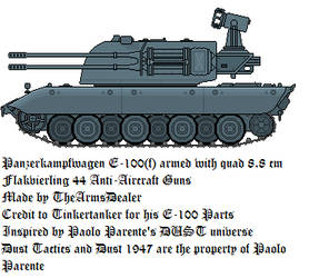 E-100(f) Anti-Aircraft Tank