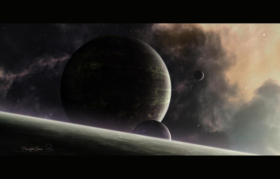 Beautiful Space by QAuZ