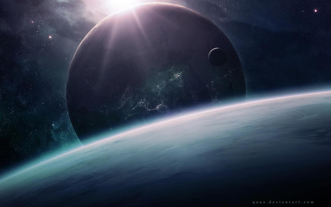 World With Lights by QAuZ