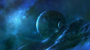 Frozen in Space by QAuZ