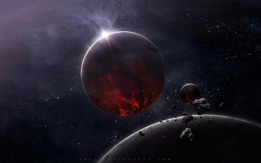Beyond Space by QAuZ