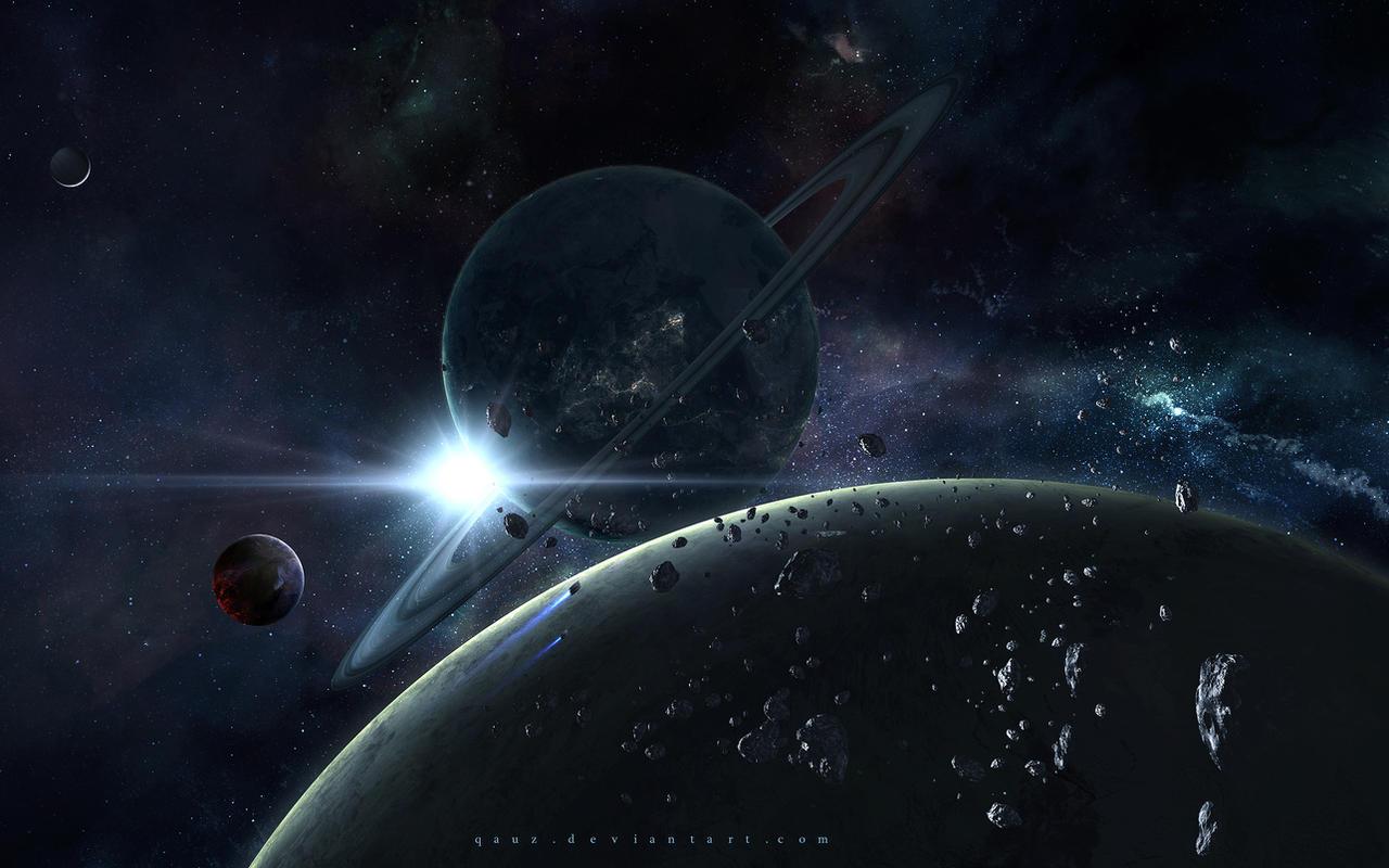 Space Lights by QAuZ