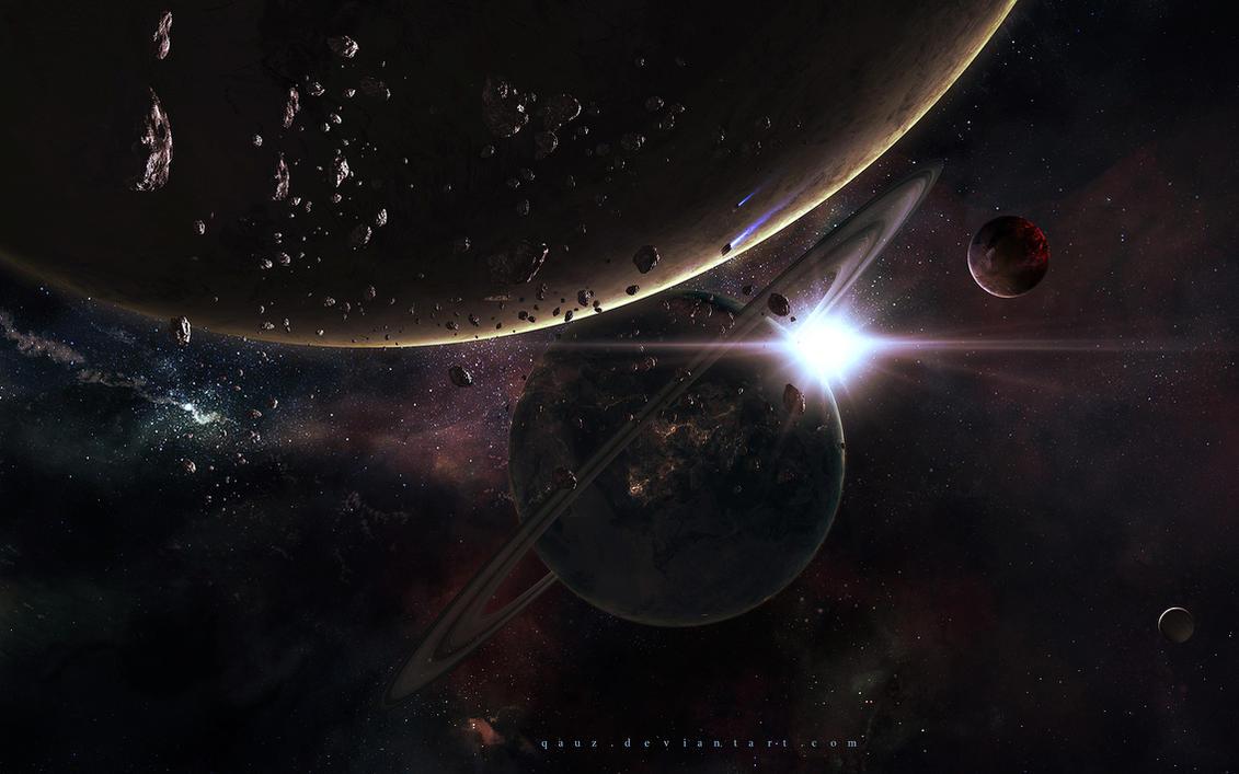 Shining Star Vs Darkness by QAuZ